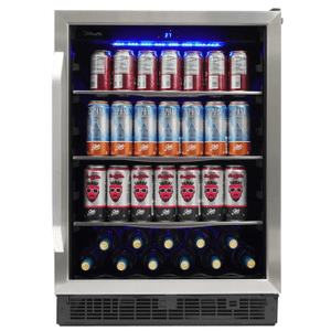 "SilhouetteRiccotta 24"" Single Zone Beverage Center"