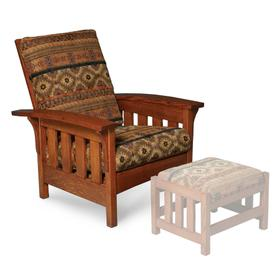 Morris Chair, Fabric Cushion Seat