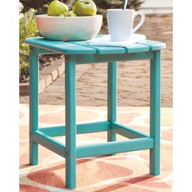 Sundown Treasure Rectangular End Table Turquoise