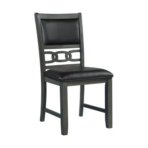 Amherst Gray PU Standard Side Chair Set