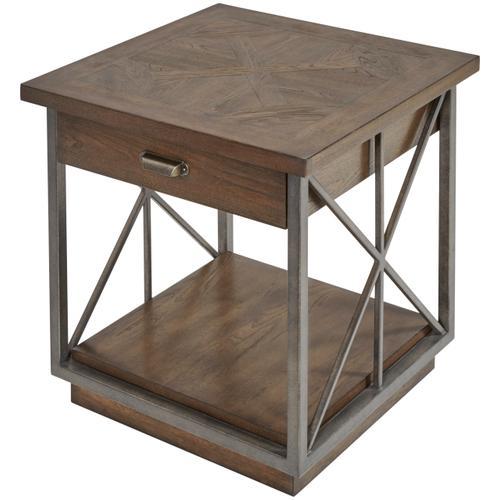 Vintage Salvage Burton End Table