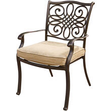 Traditions Aluminum Dining Chair (Set of 4) - AAF06000F01-4