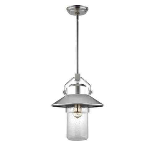 Boynton Large Pendant Painted Brushed Steel