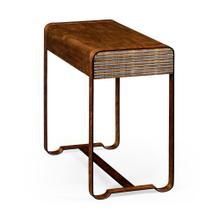 50's Americana side table with steel details