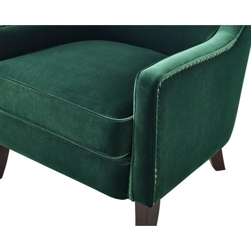 Rosco Wing Back Accent Chair - Emerald