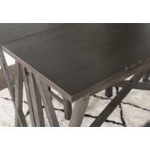 Folding Pub Table, Grey