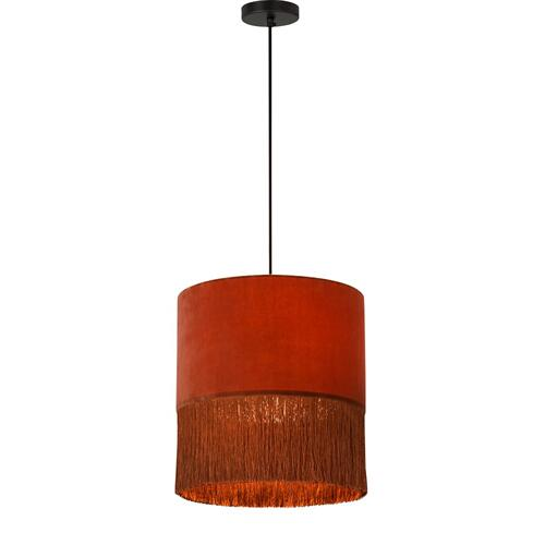 Atolla Brick Tassel Table Lamp