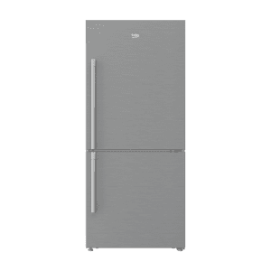 "Beko30"" Freezer Bottom Stainless Steel Refrigerator"