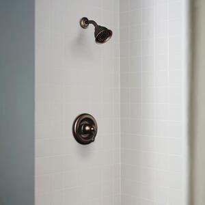 Traditional mediterranean bronze posi-temp® shower only
