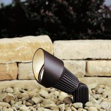 12V 1 Light Accent Light Textured Architectural Bronze