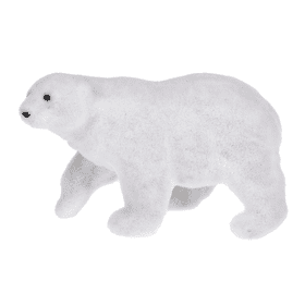 Arctic Wonderland Polar Bear Figurine - Sm.