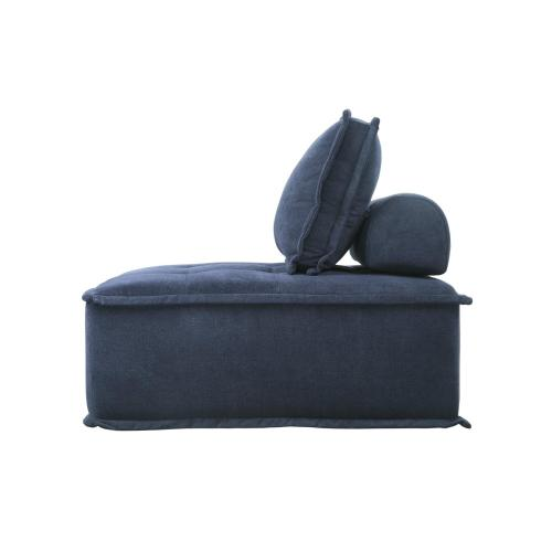 Modular Chair with Removable Bolster and Pillow
