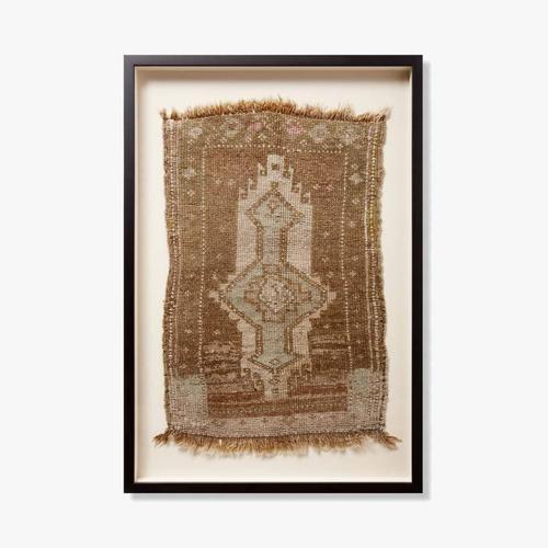 0351180011 Vintage Turkish Rug Wall Art