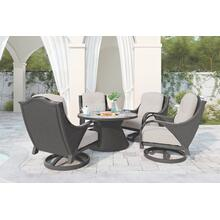 View Product - Swivel Lounge w/Cushion
