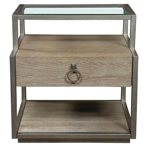 Sophie - Rectangular Side Table - Natural Finish
