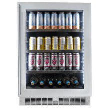 """View Product - Saxony 24"""" Single-zone Beverage Center"""