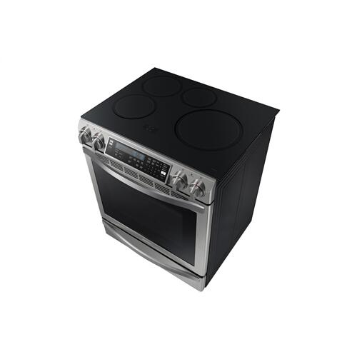 Samsung Canada - NE58H9970WS Induction Range with Virtual Flame Technology™, 5.8 cu.ft
