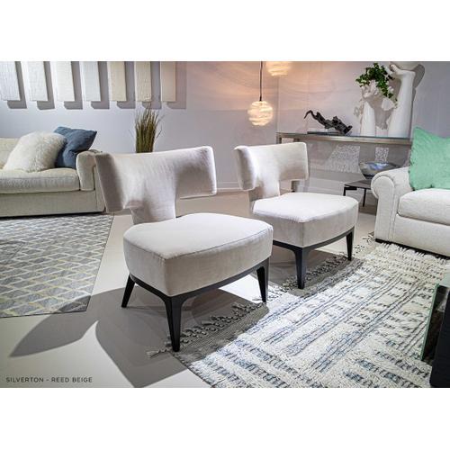 Silverton - T-Back Salon Chair - American Leather