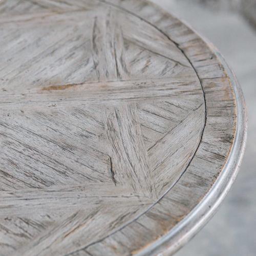 Maiva Side Table, White