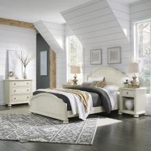 Chambre Queen Bed, Nightstand and Chest