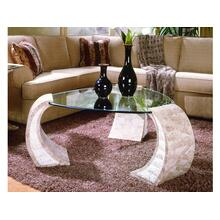 See Details - Shaped Cocktail Table