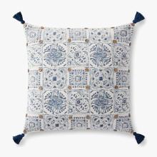 P0921 Blue / Multi Pillow