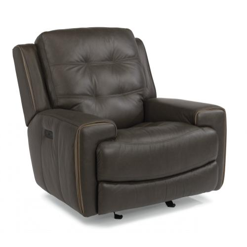 Wicklow Power Gliding Recliner with Power Headrest