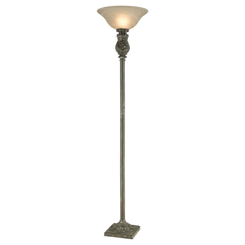 Fontainebleau Torchiere Floor Lamp