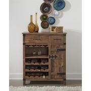 2 Drw 1 Dr Wine Cabinet Product Image