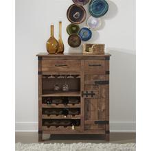2 Drw 1 Dr Wine Cabinet