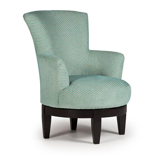 JUSTINE Swivel Barrel Chair #239352