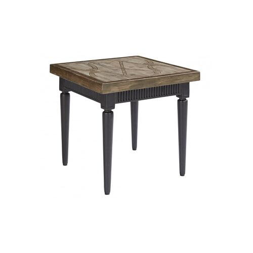 Morrissey Outdoor Leon Square End Table