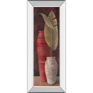 """Banana Leaf I"" Mirror Framed Print Wall Art"