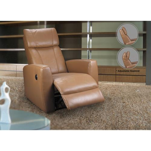 "RECLINER,MOTOR,CREAM LTH MATCH,31.8""x39.7""x42.1""H"