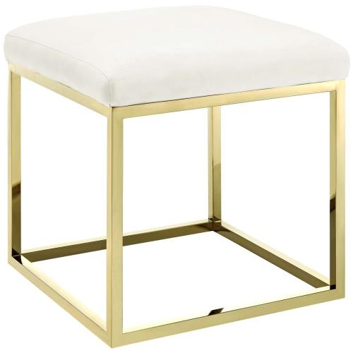 Anticipate Ottoman in Gold Ivory