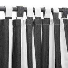 See Details - Sunbrella Cabana Classic Outdoor Curtain with Tabs