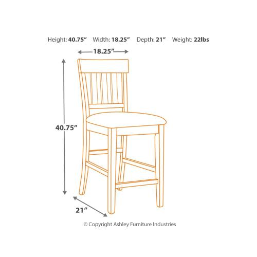 2-piece Bar Stool