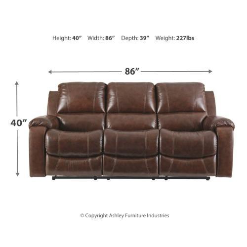 Signature Design By Ashley - Rackingburg Reclining Sofa