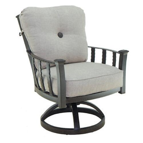 Santa Fe Cushioned Dining Swivel Rocker