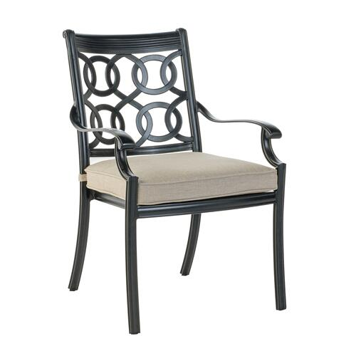 Hayden Stackable Dining Arm Chair