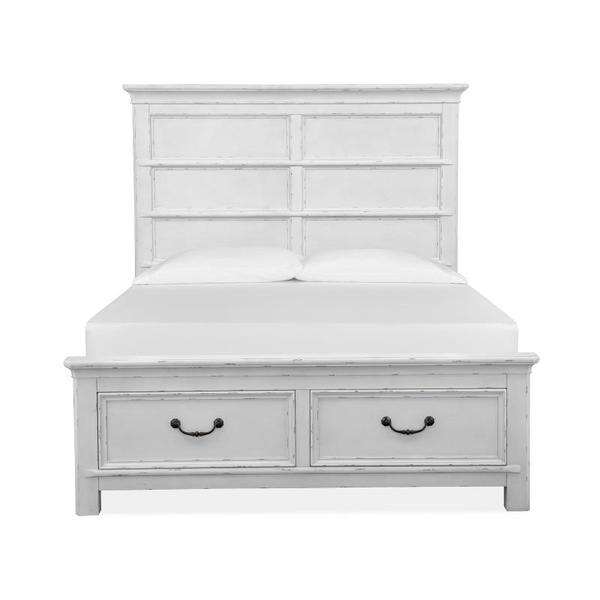 See Details - Complete Queen Panel Storage Bed