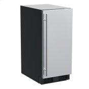 15-In Built-In Beverage Center with Door Style - Stainless Steel