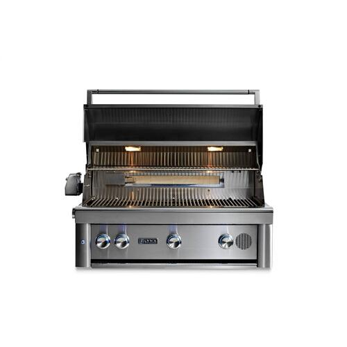 "36"" Lynx Professional Built In Smart Grill with Rotisserie, LP"