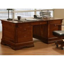 See Details - Phillipe 36x72 Desk with 2 File Dwrs & Pencil Dwr/Keyboard Tray
