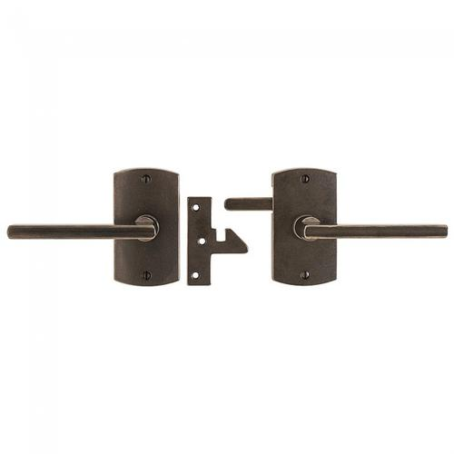 Convex Gate Hardware Silicon Bronze Brushed