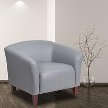 HERCULES Imperial Series Gray LeatherSoft Chair