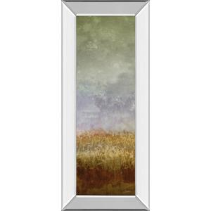 """Lush Field Il"" By John Butler Mirror Framed Print Wall Art"