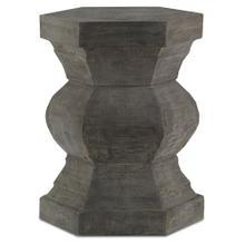See Details - Pagoda Hexagonal Stool