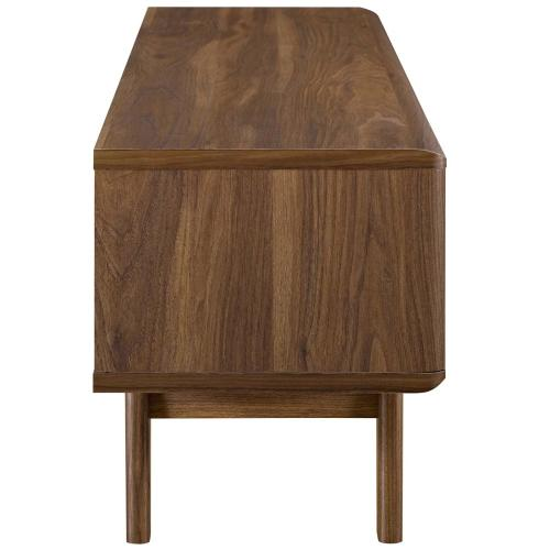 """Modway - Envision 48"""" TV Stand in Walnut White"""