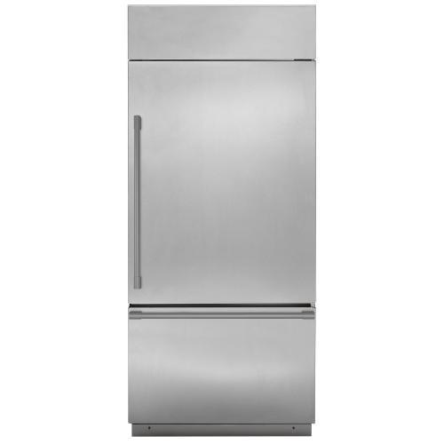 "Gallery - Monogram 36"" Built-In Bottom-Freezer Refrigerator"